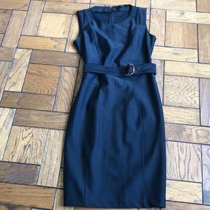 Gucci Black Belted Dress